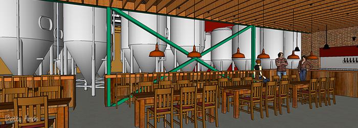 3D Modeling of Beer Brewery